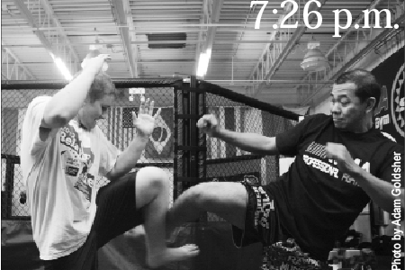 Dex in the dojo: my experience with MMA