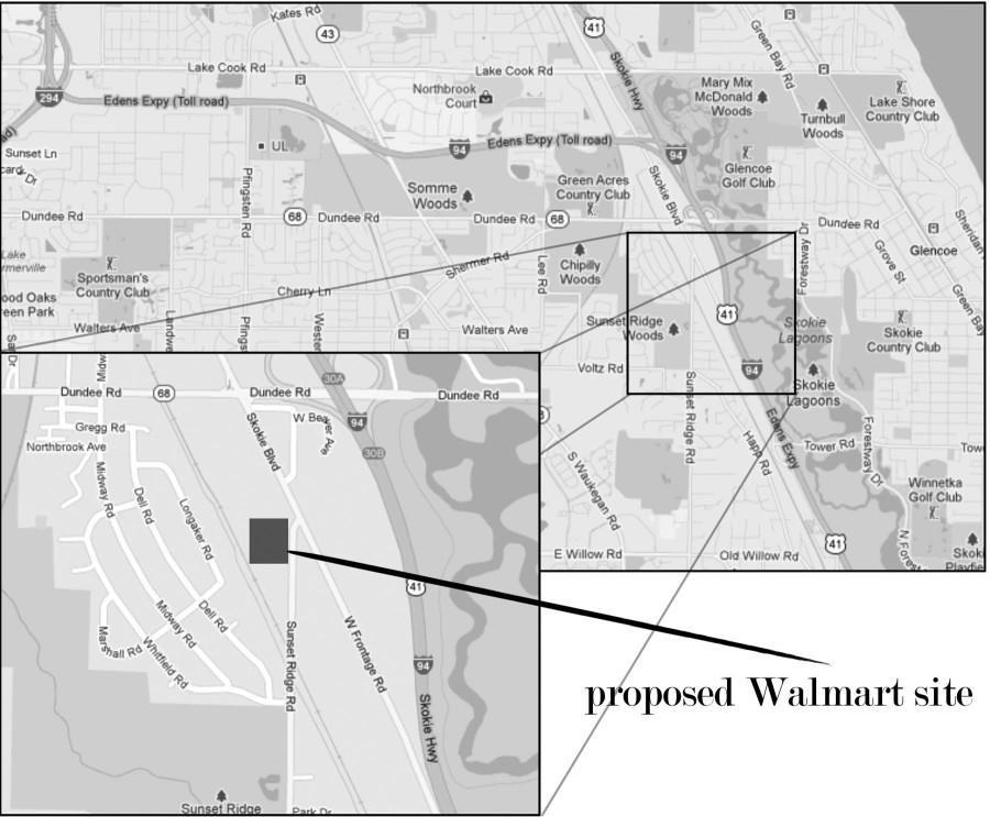 Residents consider Walmart for Northbrook