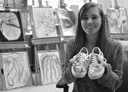 Sophomore creates wearable art