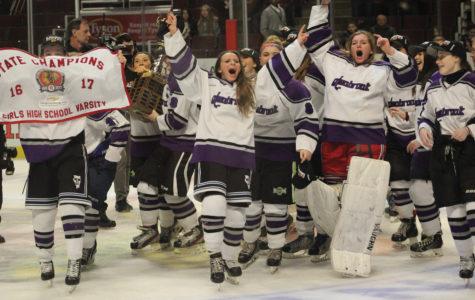 Glenbrook Girls Hockey team wins state title