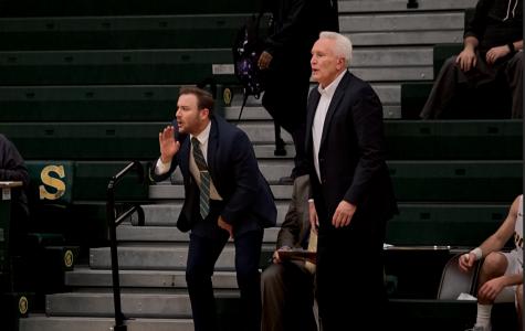 Alumnus returns on varsity staff