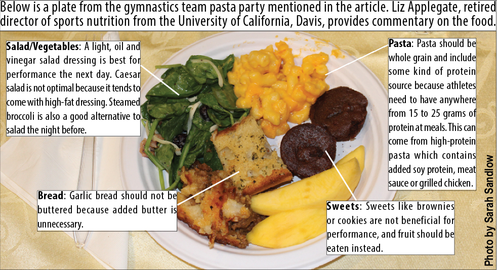 Pasta parties may scoop up problems for competition – Torch