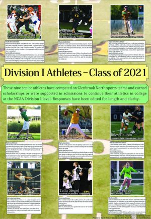 Division I Athletes—Class of 2021